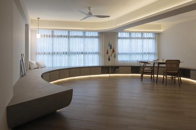 Căn hộ kỳ lạ với phòng khách tròn dành cho những cuộc tụ họp - Ảnh 7.