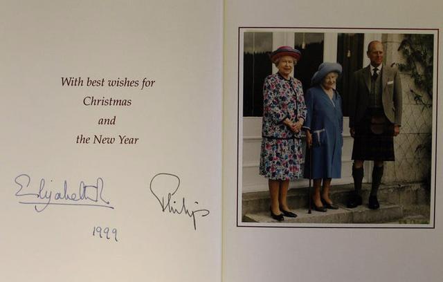 Những tấm thiệp Giáng sinh đẹp nhất qua các năm của hoàng gia Anh - Ảnh 17.