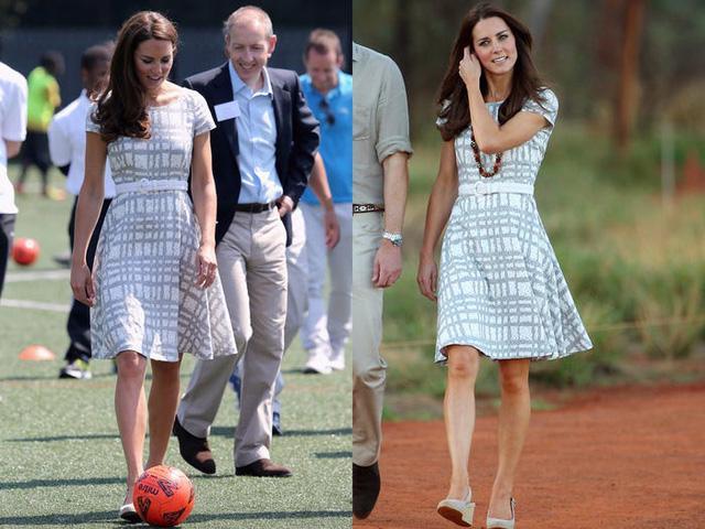 Những trang phục được Kate Middleton mặc lại nhiều lần - Ảnh 17.