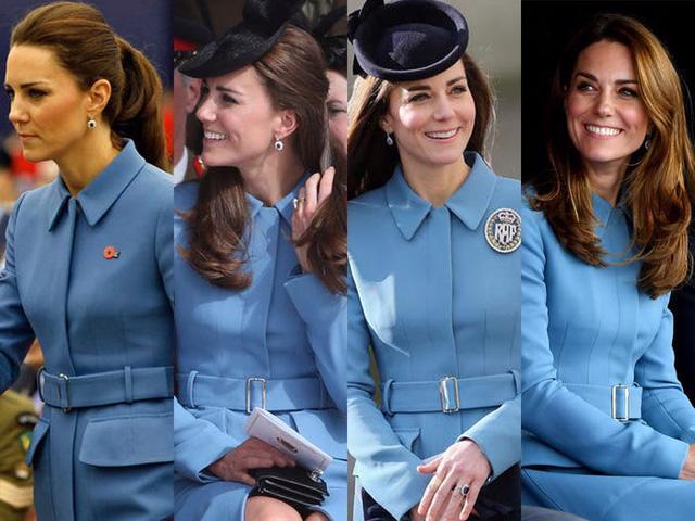 Những trang phục được Kate Middleton mặc lại nhiều lần - Ảnh 18.