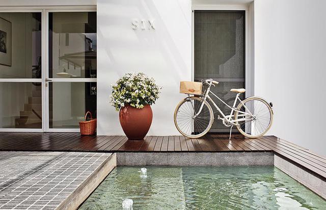 Nhà nghỉ cuối tuần phong cách tối giản - Ảnh 1.