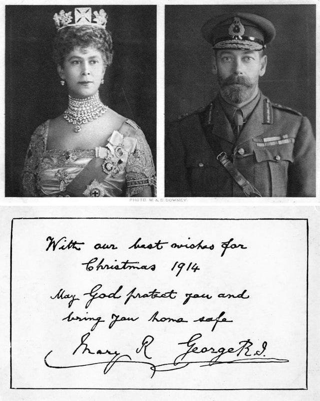 Những tấm thiệp Giáng sinh đẹp nhất qua các năm của hoàng gia Anh - Ảnh 1.