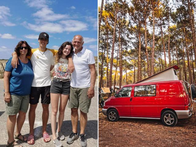Một gia đình ở Hà Lan đã biến chiếc xe tải của họ thành ngôi nhà nhỏ phóng túng - Ảnh 1.