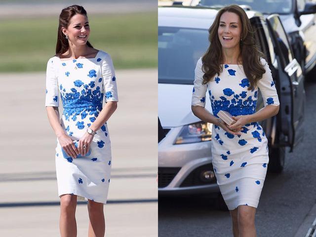 Những trang phục được Kate Middleton mặc lại nhiều lần - Ảnh 1.