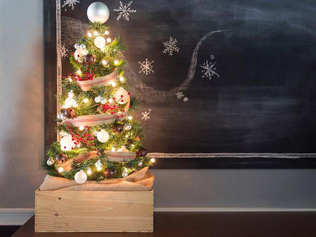 28 ý tưởng trang trí mùa Giáng sinh cho không gian nhỏ - Ảnh 19.