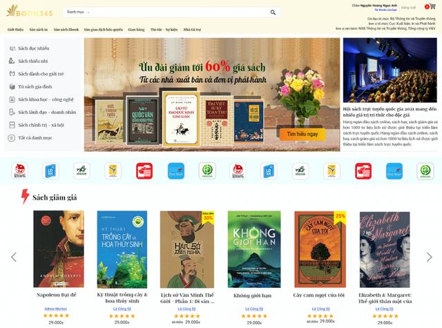 Nhiều sách giảm giá tới 80% tại Hội sách trực tuyến quốc gia 2021 - Ảnh 1.
