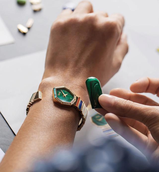 BST Gem Dior: đá quý, hình học và bất quy tắc - Ảnh 2.