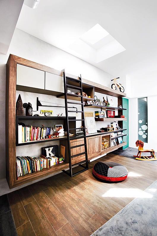6 ý tưởng cho thư viện mini tại nhà - Ảnh 6.