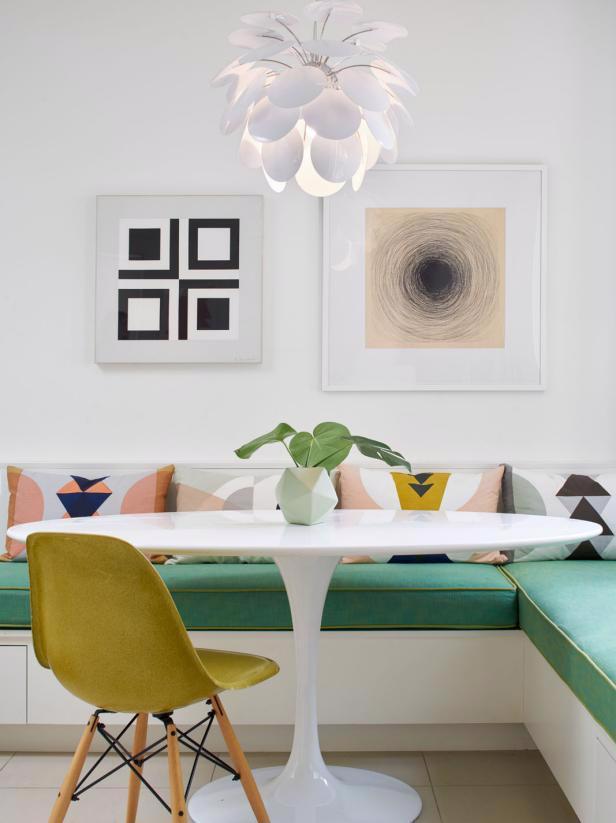 30 ý tưởng trang trí phòng ăn đẹp mắt - Ảnh 3.