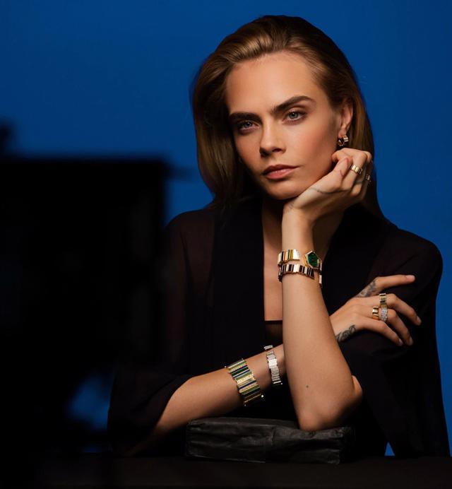 BST Gem Dior: đá quý, hình học và bất quy tắc - Ảnh 1.