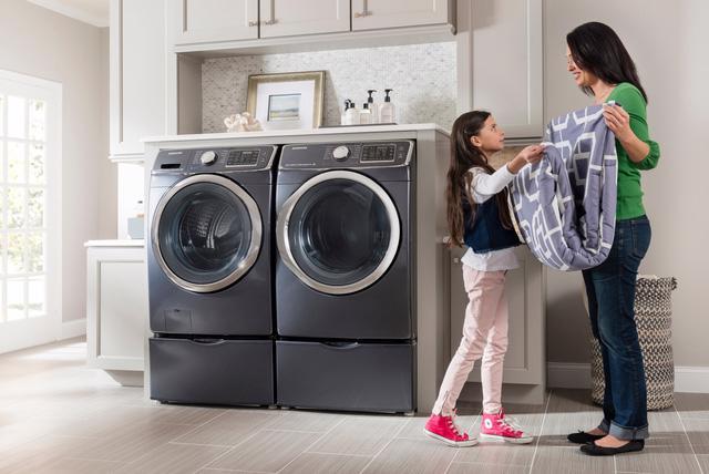 Mẹo dùng máy giặt tiết kiệm năng lượng - Ảnh 1.