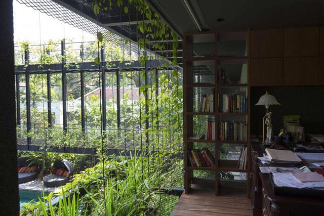 Chiêm ngưỡng biệt thự xanh đáng kinh ngạc ở Singapore - Ảnh 18.