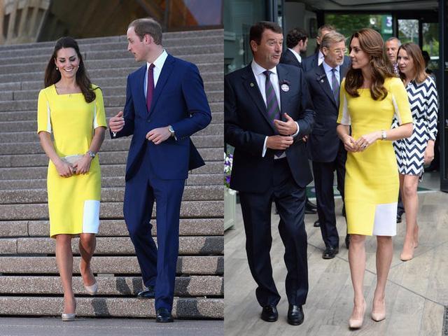 Những trang phục được Kate Middleton mặc lại nhiều lần - Ảnh 3.