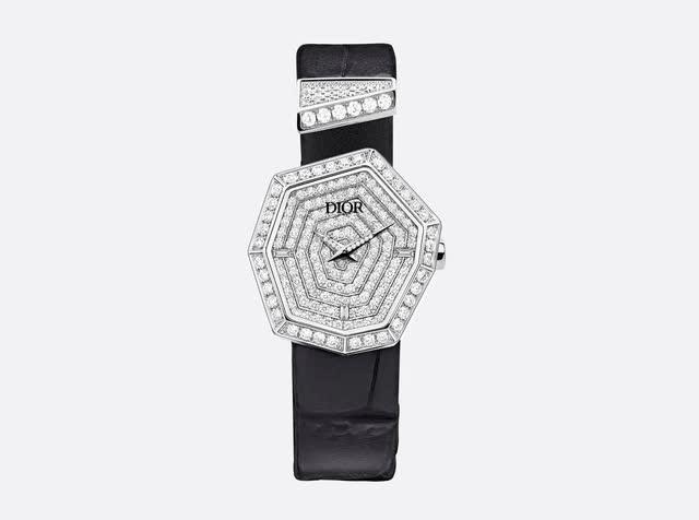 BST Gem Dior: đá quý, hình học và bất quy tắc - Ảnh 8.