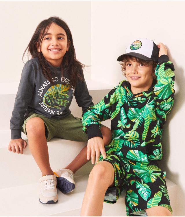 H&M ra mắt bộ sưu tập thời trang bền vững cho trẻ em - Ảnh 1.