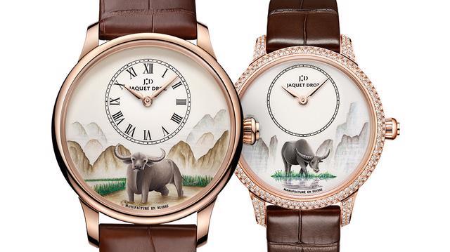 Jaquet Droz giới thiệu phiên bản đồng hồ giới hạn cho năm Tân Sửu - Ảnh 1.