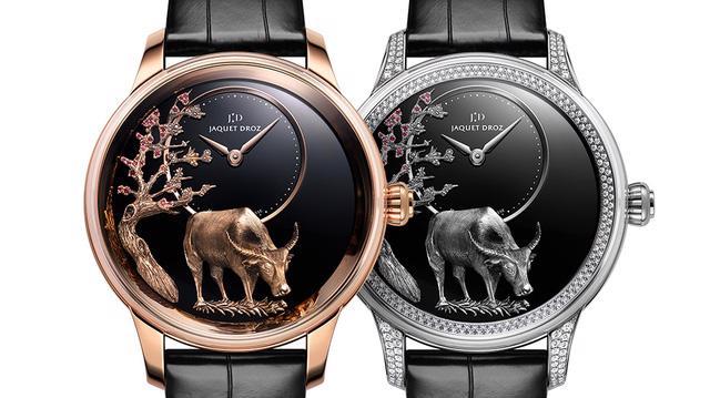 Jaquet Droz giới thiệu phiên bản đồng hồ giới hạn cho năm Tân Sửu - Ảnh 3.