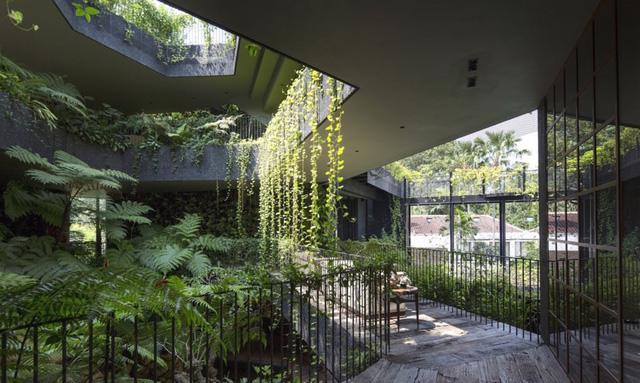 Chiêm ngưỡng biệt thự xanh đáng kinh ngạc ở Singapore - Ảnh 19.