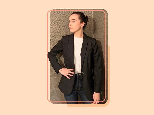 17 mẫu áo blazer được yêu thích trong năm nay - Ảnh 4.