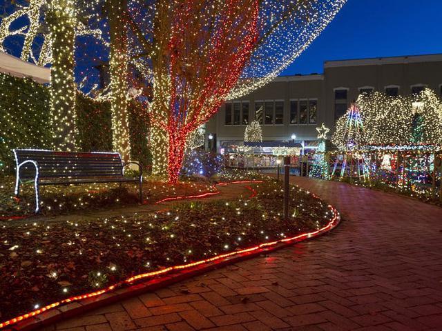 Nước Mỹ: ngắm Giáng sinh muôn màu muôn vẻ - Ảnh 4.