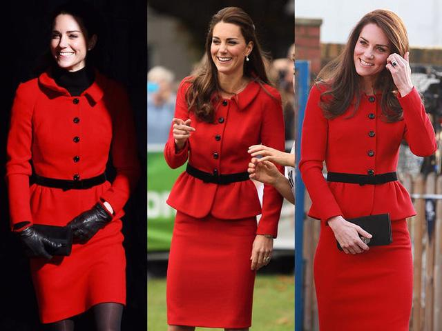 Những trang phục được Kate Middleton mặc lại nhiều lần - Ảnh 4.