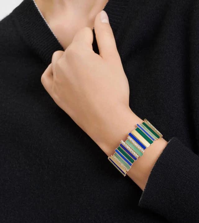 BST Gem Dior: đá quý, hình học và bất quy tắc - Ảnh 6.