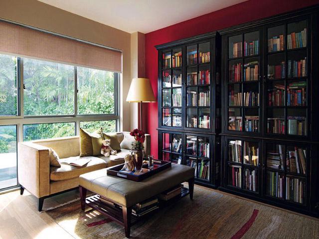 6 ý tưởng cho thư viện mini tại nhà - Ảnh 4.