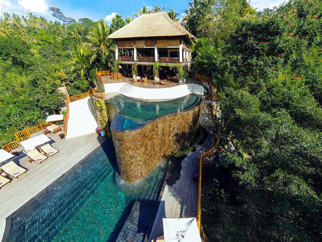 Một khu nghỉ dưỡng tuyệt đẹp giữa rừng rậm ở Bali - Ảnh 2.