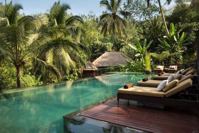 Một khu nghỉ dưỡng tuyệt đẹp giữa rừng rậm ở Bali - Ảnh 1.
