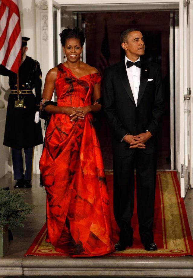 12 khoảnh khắc phong cách của cựu Đệ nhất phu nhân Michelle Obama - Ảnh 4.