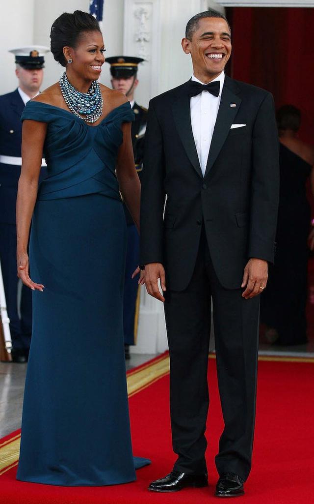 12 khoảnh khắc phong cách của cựu Đệ nhất phu nhân Michelle Obama - Ảnh 5.