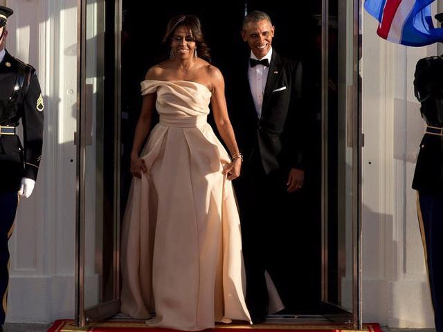 12 khoảnh khắc phong cách của cựu Đệ nhất phu nhân Michelle Obama - Ảnh 9.