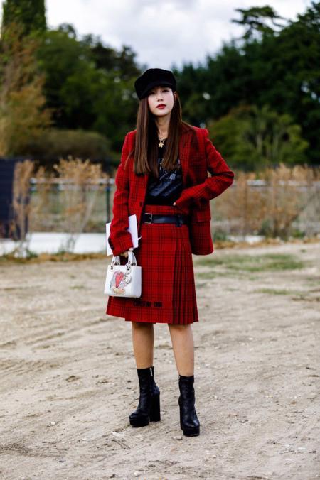 Dự đoán xu hướng thời trang qua streetstyle của Paris Fashion Week - Ảnh 14.