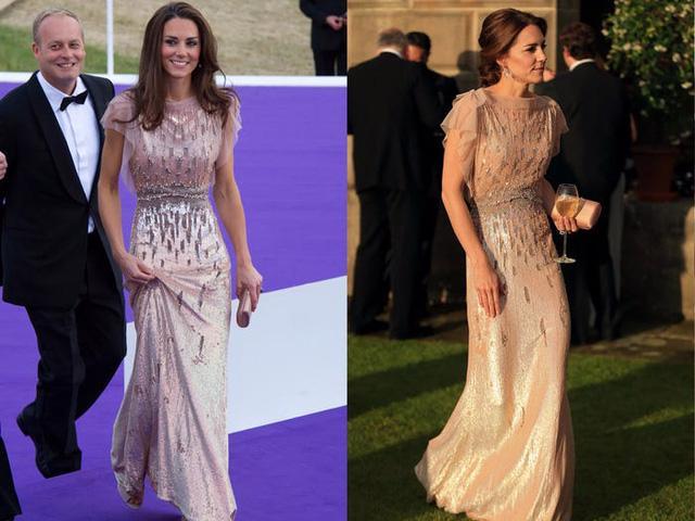 Những trang phục được Kate Middleton mặc lại nhiều lần - Ảnh 5.