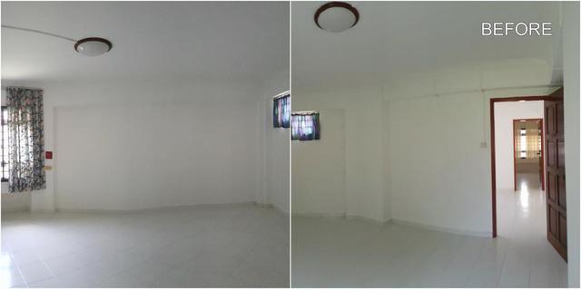 Cải tạo căn hộ cũ thành ngôi nhà bohemian tươi vui - Ảnh 14.