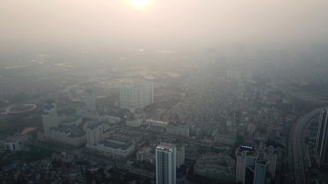 Hà Nội: không khí ô nhiễm nghiêm trọng ngày thứ ba liên tiếp - Ảnh 1.