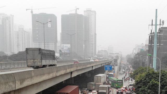 Hà Nội: không khí ô nhiễm nghiêm trọng ngày thứ ba liên tiếp - Ảnh 2.