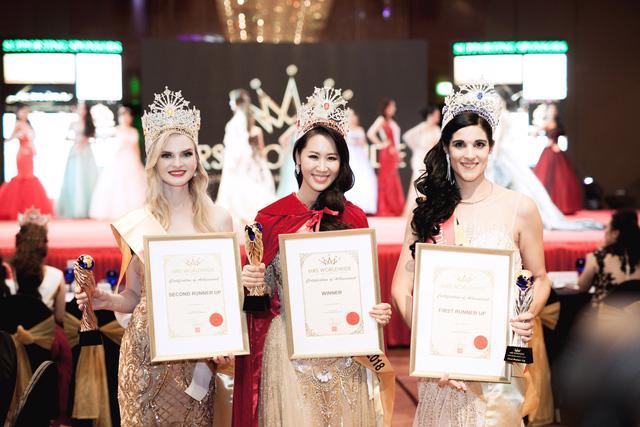 Dương Thùy Linh đăng quang Hoa hậu Phụ nữ Toàn thế giới 2018 - Ảnh 3.
