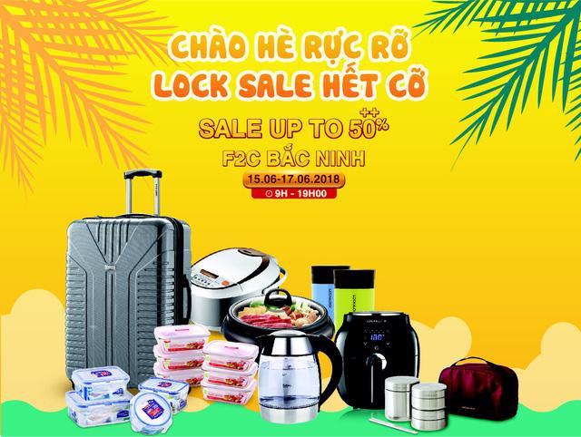 Lock&Lock chào hè siêu giảm giá 50% - Ảnh 1.