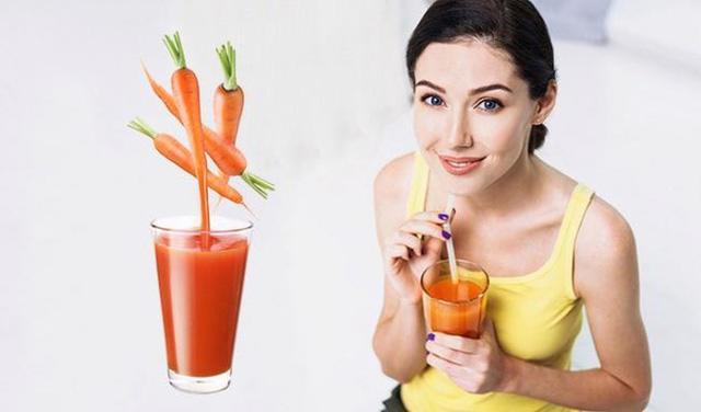 6 lợi ích của nước ép cà rốt - Ảnh 2.