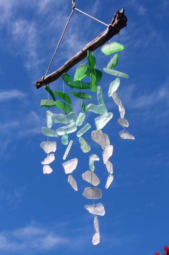 Tự làm chuông gió từ vật liệu tái chế cho mùa hè thêm mát rượi - Ảnh 8.