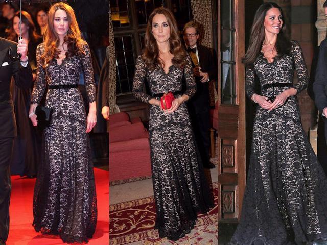 Những trang phục được Kate Middleton mặc lại nhiều lần - Ảnh 8.