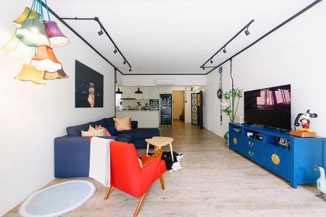 Ngôi nhà nhiều màu sắc và vô cùng thú vị - Ảnh 2.