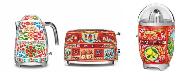 BST thiết bị nhà bếp của Smeg và Dolce&Gabbana đã về đến châu Á - Ảnh 4.
