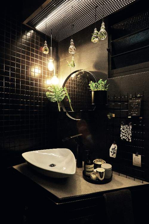 Bí quyết để có một phòng tắm màu đen ấn tượng - Ảnh 5.