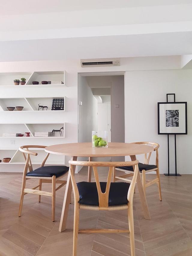 Căn hộ chung cư đơn giản mà thanh lịch - Ảnh 1.