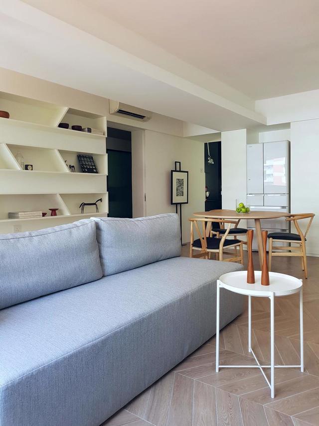 Căn hộ chung cư đơn giản mà thanh lịch - Ảnh 3.