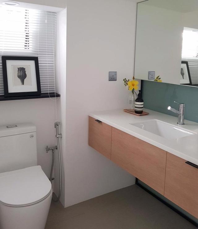 Căn hộ chung cư đơn giản mà thanh lịch - Ảnh 8.