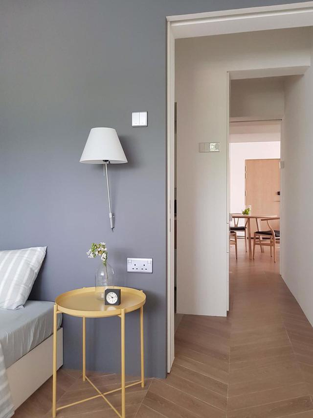 Căn hộ chung cư đơn giản mà thanh lịch - Ảnh 7.