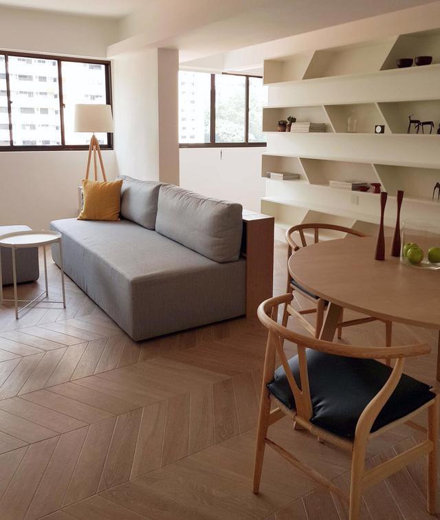 Căn hộ chung cư đơn giản mà thanh lịch - Ảnh 2.